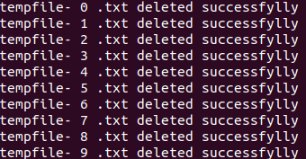 deleting files on SFTP server